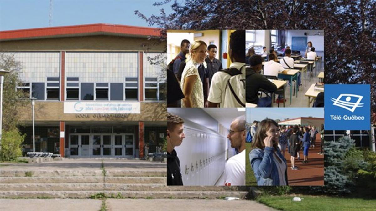 Télé-Québec offre une incursion inédite au coeur d'une école secondaire avec la série 180 jours