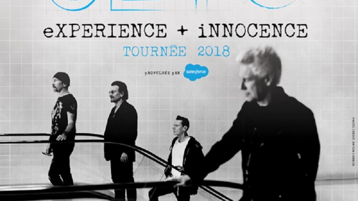 U2 de retour à Montréal en 2018