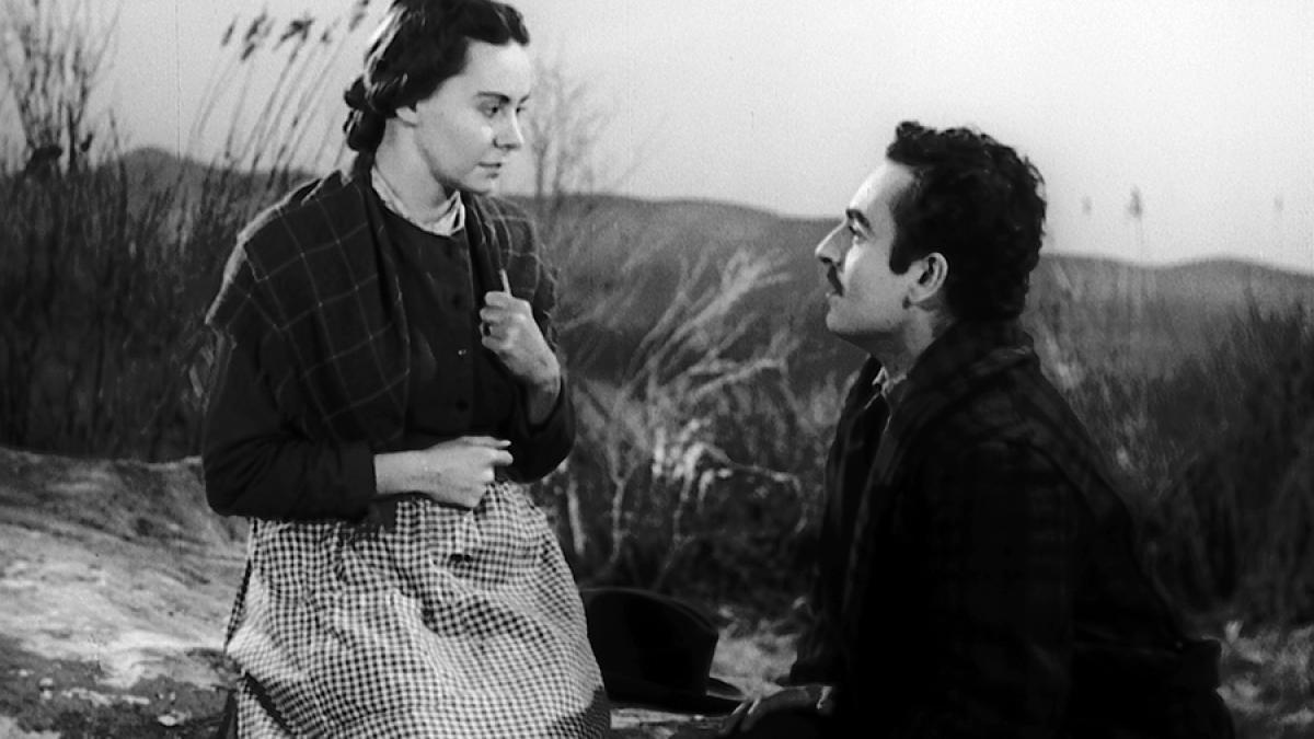 Donalda et Alexis dans «Un homme et son péché» (1949)