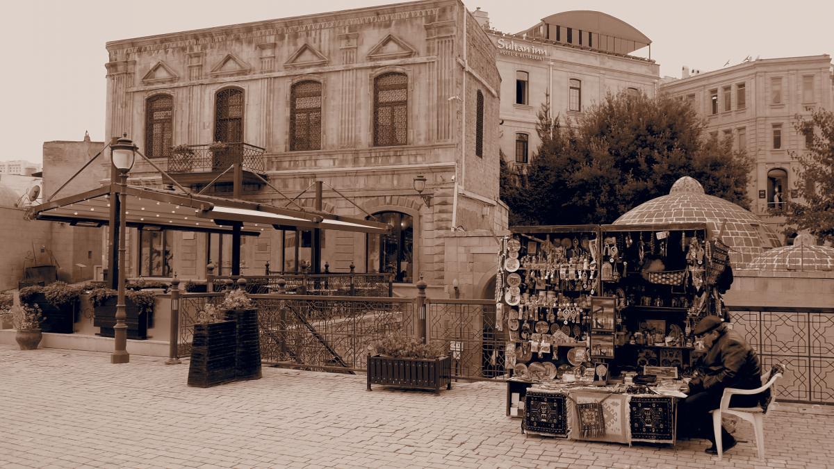 Bakou, ville du Patrimoine mondial – Photo: Pierre-Etienne Paradis