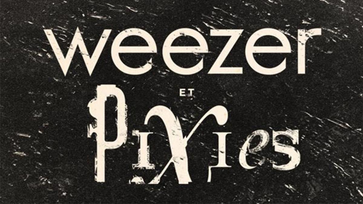Weezer et Pixies le 13 mars 2019 au Centre Bell