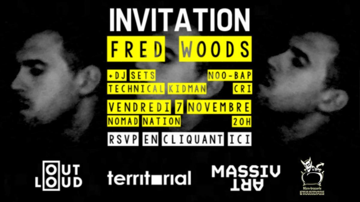 Fred Woods + DJ sets